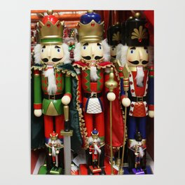 Nutcracker Soldiers Poster
