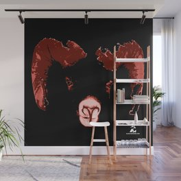 Aries - Fire of the Ram Wall Mural