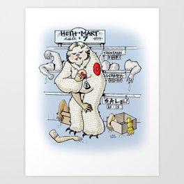 Hoth.Mart Art Print