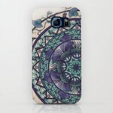 Morning Mist Mandala Slim Case Galaxy S6