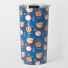 Weekends are for Waffles Travel Mug