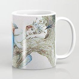 Feather fairy by Sergey Sergeevich 1912 Coffee Mug