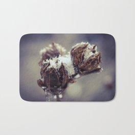 Winter Rose Of Sharon Bath Mat