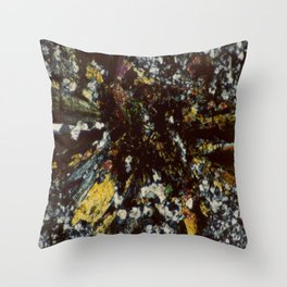 Epidote Throw Pillow