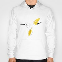 hummingbird Hoodies featuring Hummingbird by Steph Dillon