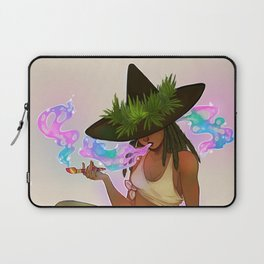 Weed Witch Laptop Sleeve