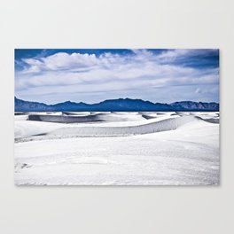 White Sands N.M. Canvas Print