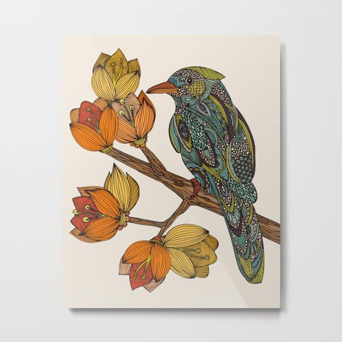 Bravebird Metal Print