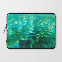 Blue Green Water Laptop Sleeve