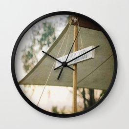 Vintage Civil War Sign Ulysses Grant Wall Clock