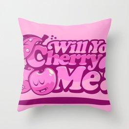CHERRY ME! Throw Pillow