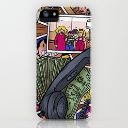 All Star Dad iPhone Case