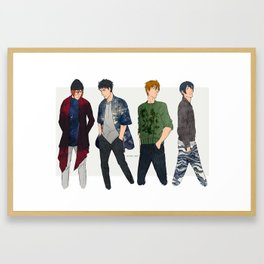Fashion is cool Framed Art Print