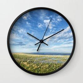 Malheur Lake Basin Replenished Wall Clock
