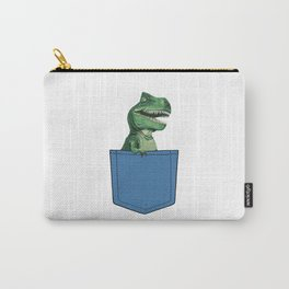 T-Rex in pocket Carry-All Pouch
