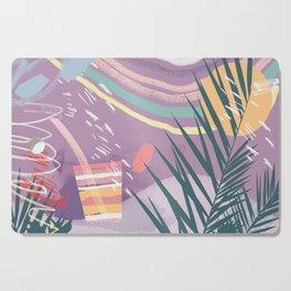 Summer Pastels Cutting Board