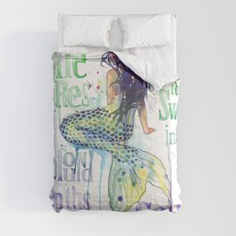 Mermaid : Profound Depths Comforters