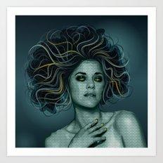 Gorgon Medusa Art Print