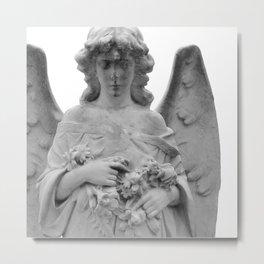 Angel Watching Over Me Metal Print
