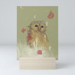 Snow Bloom Mini Art Print