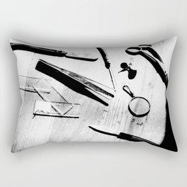 exploring life Rectangular Pillow