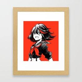 Ryuko Matoi - Kill La Kill Framed Art Print