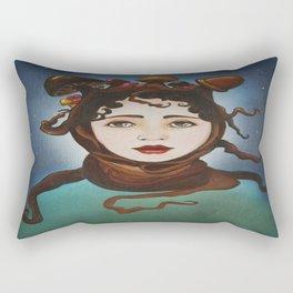 MUSHROOM GIRL Rectangular Pillow