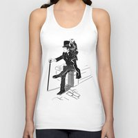 victorian Tank Tops featuring Victorian by Cassandra Jean