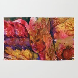 Fire Fairy by Kathy Morton Stanion Rug