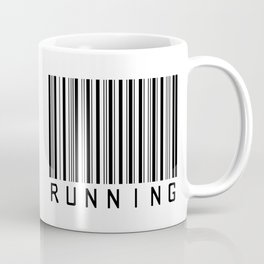 Barcode - Running  Coffee Mug