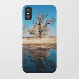 Tree on the Lake iPhone Case