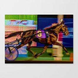 Color Trotter Number Nine Canvas Print
