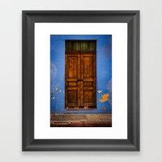 Azul Framed Art Print