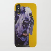 nike iPhone & iPod Cases featuring Nike Boy by Luke Schmidt
