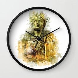 Ave Caesar, Ave Moi Wall Clock