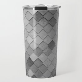 Fifty Gray Shades of Tiles (Black and White) Travel Mug