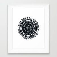 ethnic Framed Art Prints featuring Ethnic by Iris López