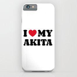 Akita iPhone Case