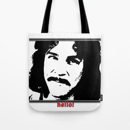 Hello My Name Is Tote Bag