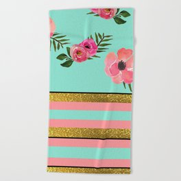 A Spring In Time II Beach Towel