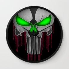 Punisher Spawn Mash-Up Wall Clock