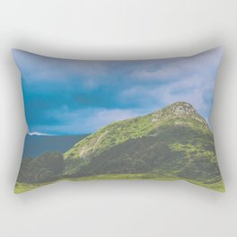 Nature enviroment Hill landscape Rectangular Pillow