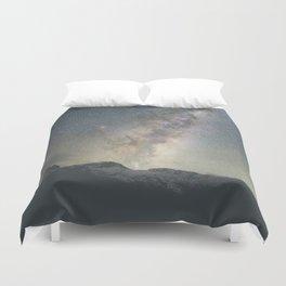 Stars over Mount Aspiring Duvet Cover