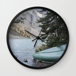 Lake Louise Wall Clock
