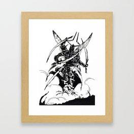 Ravana Framed Art Print