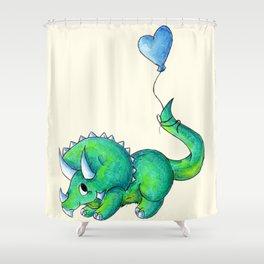 Balloon for Baby (Boy) Shower Curtain