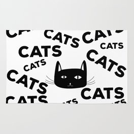 For the love of cats Rug
