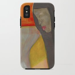 Orange iPhone Case