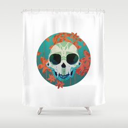 Siamang Shower Curtain