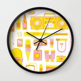 Summer Jawns Wall Clock